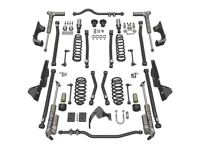 Teraflex 4 in. Alpine CT4 Suspension Lift Kit w/ Falcon 3.1 Shocks (07-18 Jeep Wrangler JK 2 Door)