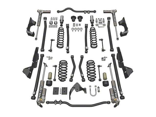 Teraflex 4 in. Alpine CT4 Suspension Lift Kit w/ Falcon 3.2 Shocks (07-18 Jeep Wrangler JK 4 Door)