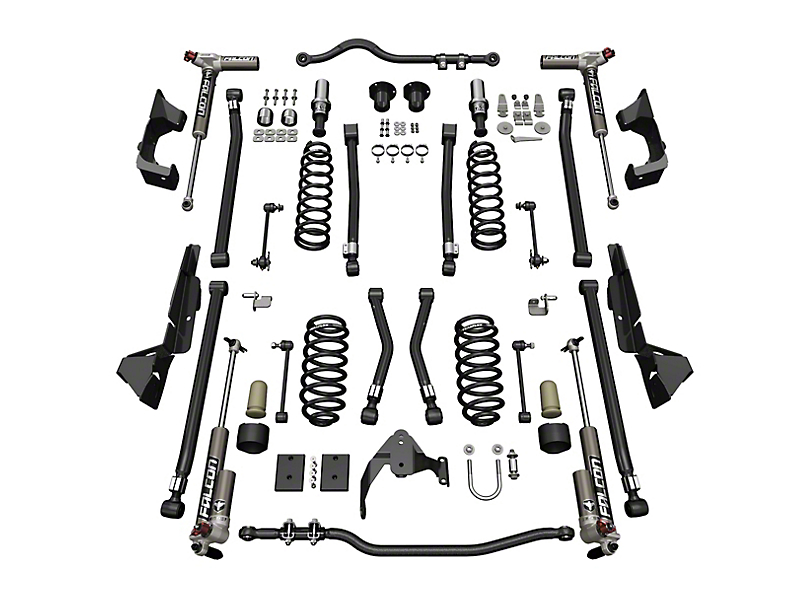 Teraflex 4 in. Alpine CT4 Suspension Lift Kit w/ Falcon 3.3 Shocks (07-18 Jeep Wrangler JK 4 Door)