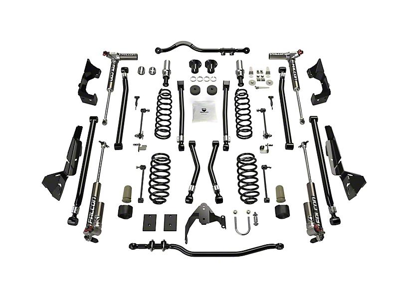 Teraflex 4 in. Alpine CT4 Suspension Lift Kit w/ Falcon 3.3 Shocks (07-18 Jeep Wrangler JK 2 Door)