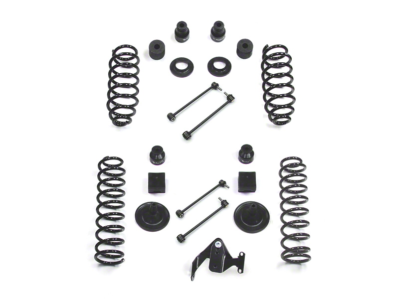 Teraflex 4 in. Base Suspension Lift Kit (07-18 Jeep Wrangler JK 4 Door)