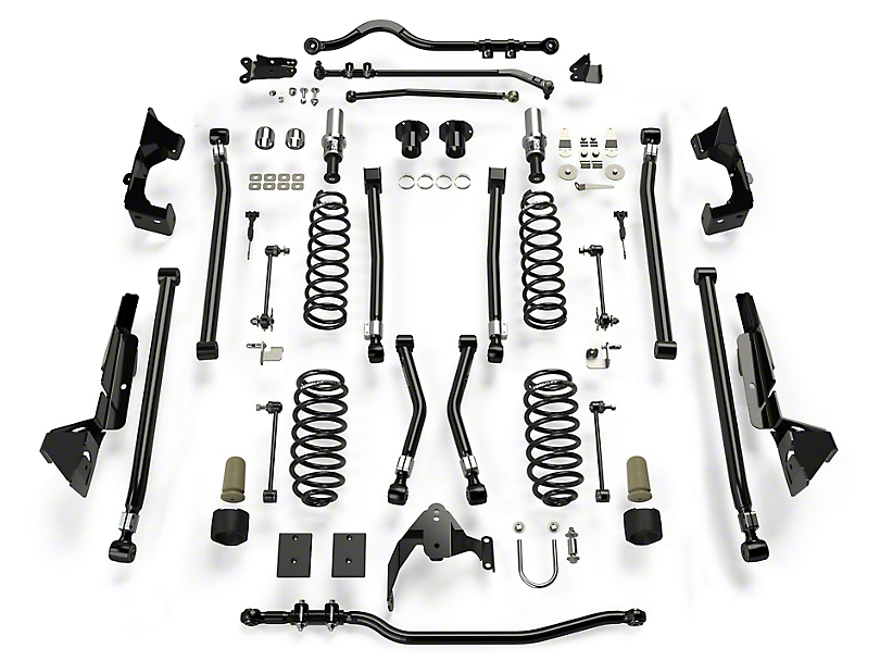 Teraflex 6 in. Alpine CT6 Suspension Lift Kit (07-18 Jeep Wrangler JK 4 Door)