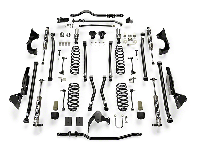 Teraflex 6 in. Alpine CT6 Suspension Lift Kit w/ Falcon 2.1 Shocks (07-18 Jeep Wrangler JK 2 Door)