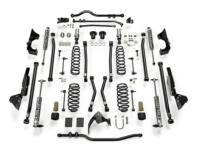 Teraflex 6-Inch Alpine CT6 Suspension Lift Kit with Falcon 2.1 Shocks (07-18 Jeep Wrangler JK 2 Door)
