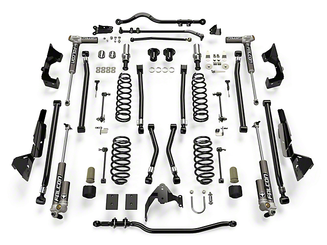 Teraflex 6 in. Alpine CT6 Suspension Lift Kit w/ Falcon 3.2 Shocks (07-18 Jeep Wrangler JK 2 Door)