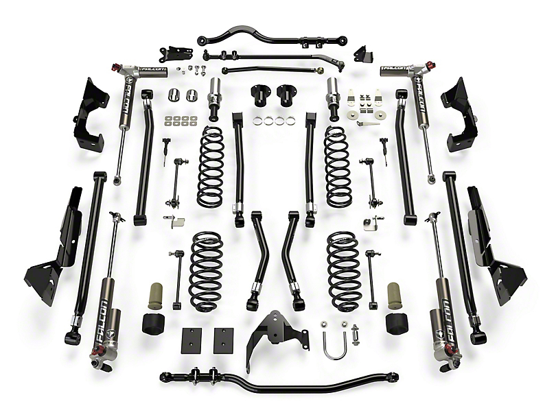 Teraflex 6 in. Alpine CT6 Suspension Lift Kit w/ Falcon 3.3 Shocks (07-18 Jeep Wrangler JK 2 Door)