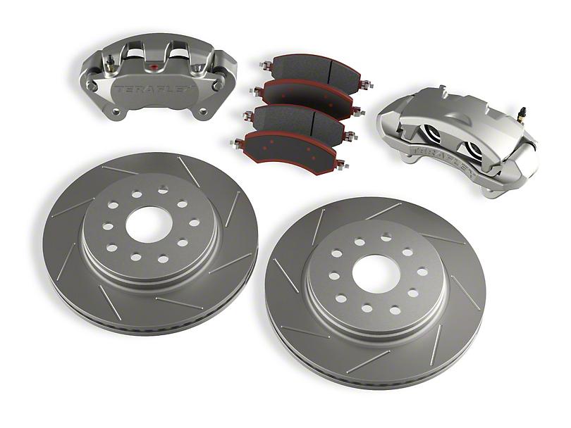 Teraflex Front Big Brake Kit with 13.30-Inch Vented Slotted Rotors (07-18 Jeep Wrangler JK)