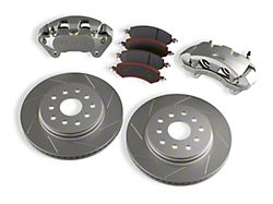 Teraflex Front Big Brake Kit with 13.30-Inch Vented Slotted Rotors (07-18 Jeep Wrangler JK)