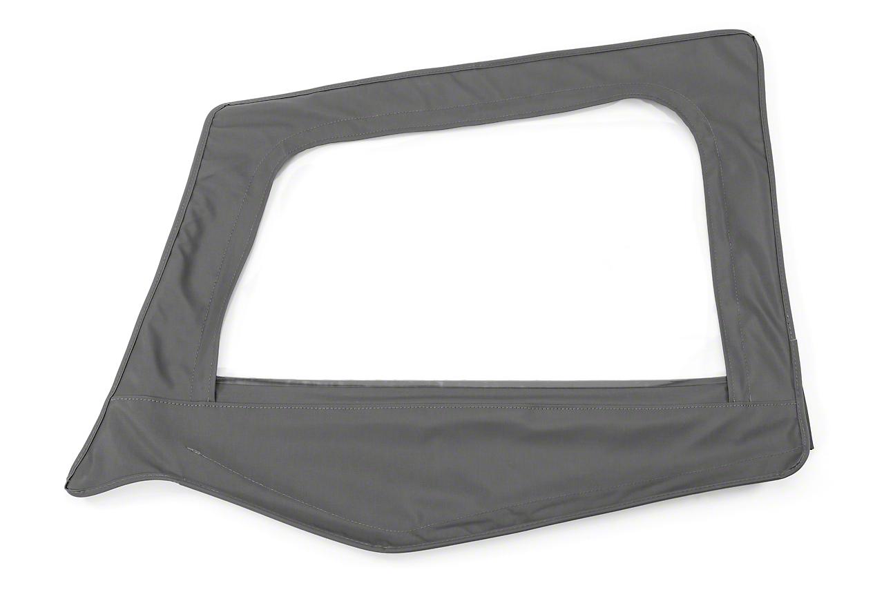 MasterTop Replacement Door Skin - Black Diamond - Driver Side (87-95 Jeep Wrangler YJ)