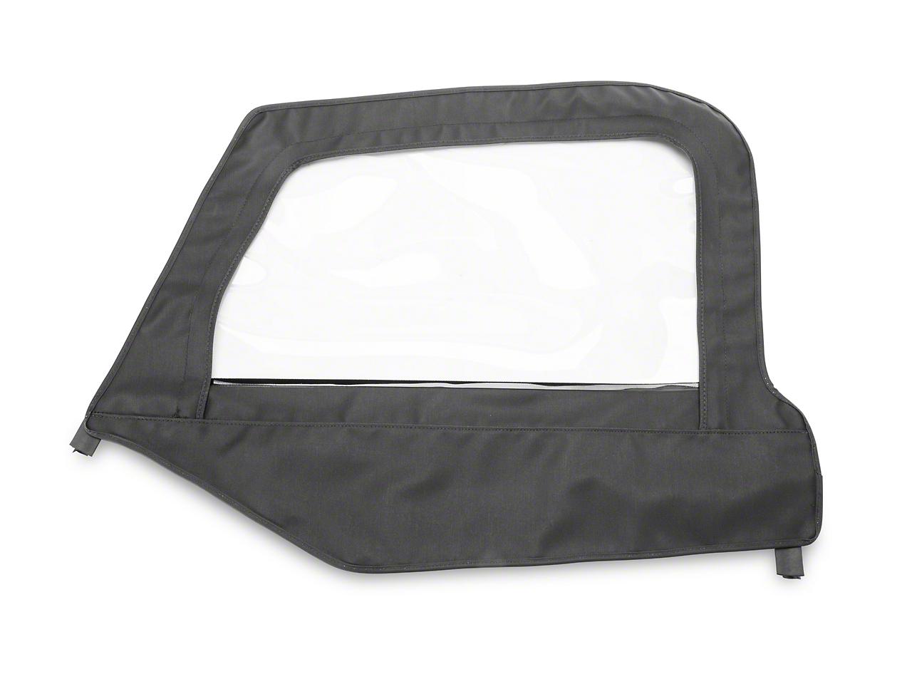 MasterTop Replacement Door Skin - Black Diamond - Driver Side (97-06 Jeep Wrangler TJ)
