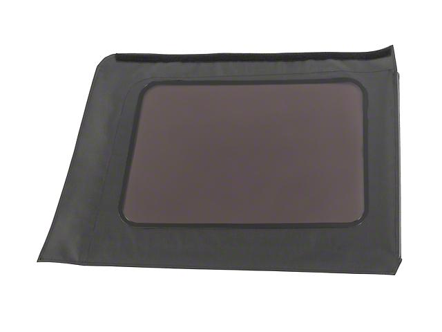 MasterTop Replacement Quarter Window - Black Diamond - Driver Side (07-18 Jeep Wrangler JK 4 Door)