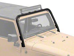 Body Armor 4x4 Windshield Light Bar (07-18 Jeep Wrangler JK)