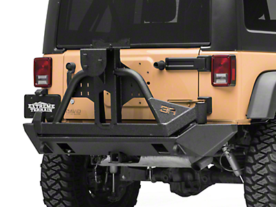 Body Armor 4x4 PRO-Series Swing Arm Tire Carrier (07-18 Jeep Wrangler JK)