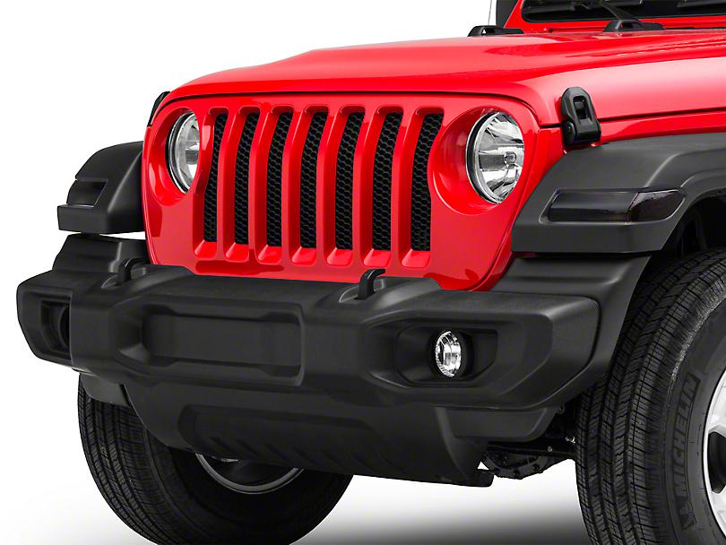 Front Light Tint - Dark (18-19 Jeep Wrangler JL)