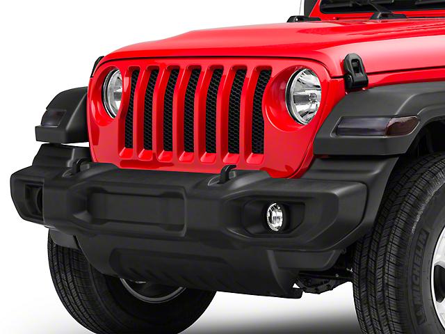 SEC10 Front Light Tint; Light (20-22 Jeep Gladiator JT)