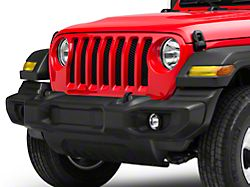 SEC10 Front Light Tint; Yellow (20-22 Jeep Gladiator JT)