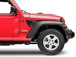 SEC10 Side Accent Decals; Matte Black (18-20 Jeep Wrangler JL)