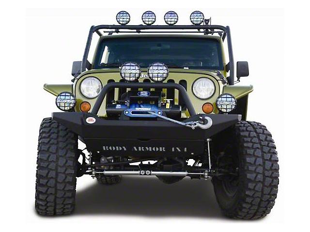 Body Armor 4x4 Front Skid Plate (07-18 Jeep Wrangler JK)