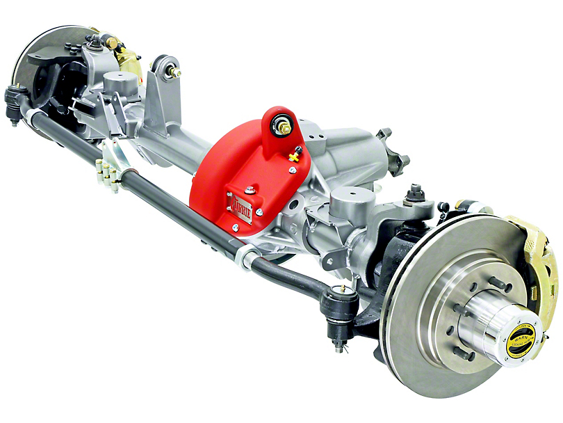 Currie RockJock 60VXR Front Crate Axle w/ Detroit Locker; 4.88 Ratio; 6x5.5 Bolt Pattern (07-18 Jeep Wrangler JK)