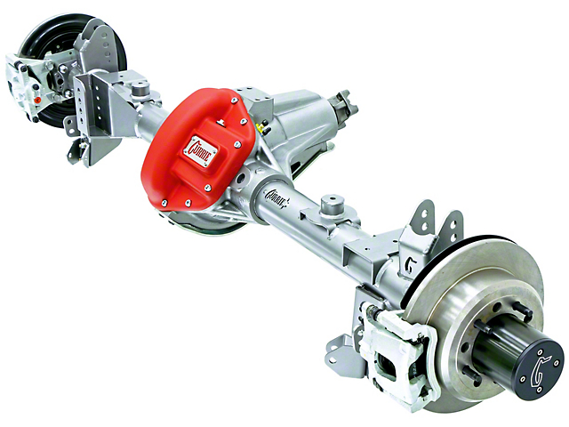 Currie RockJock 60VXR Rear Crate Axle w/ Eaton Locker - 5.13 Ratio - 8x6.5 Bolt Pattern (07-18 Jeep Wrangler JK)