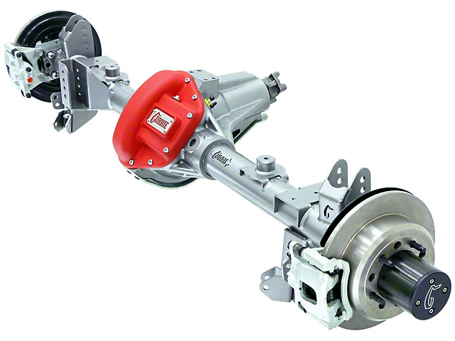 Currie RockJock 70 Rear Crate Axle w/ Eaton Locker - 5.38 Ratio - 8x6.5 Bolt Pattern (07-18 Jeep Wrangler JK)