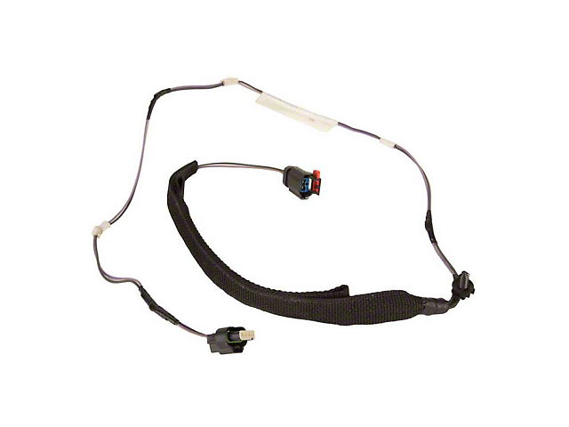 rear passenger side door wiring harness (07 10 jeep wrangler jk 4 door) Jeep TJ Wiring Harness