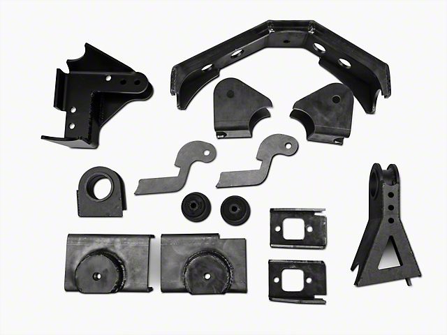 Teraflex Front Axle Bracket Kit (97-06 Jeep Wrangler TJ)