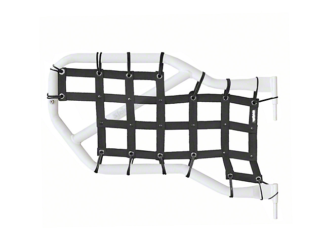 Steinjager Jeep Wrangler Rear Tube Door Cargo Net Covers - Black ...