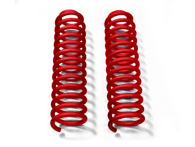 Steinjager 2.5 in. Front Lift Springs - Red Baron (07-18 Jeep Wrangler JK)