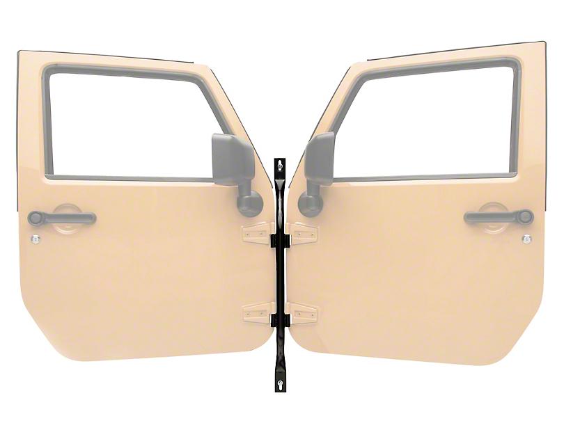 Steinjager Door Holder - Black (07-18 Jeep Wrangler JK)
