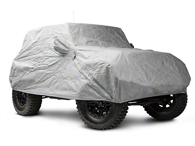Smittybilt Full Climate Jeep Cover (07-18 Wrangler JK 2 Door)