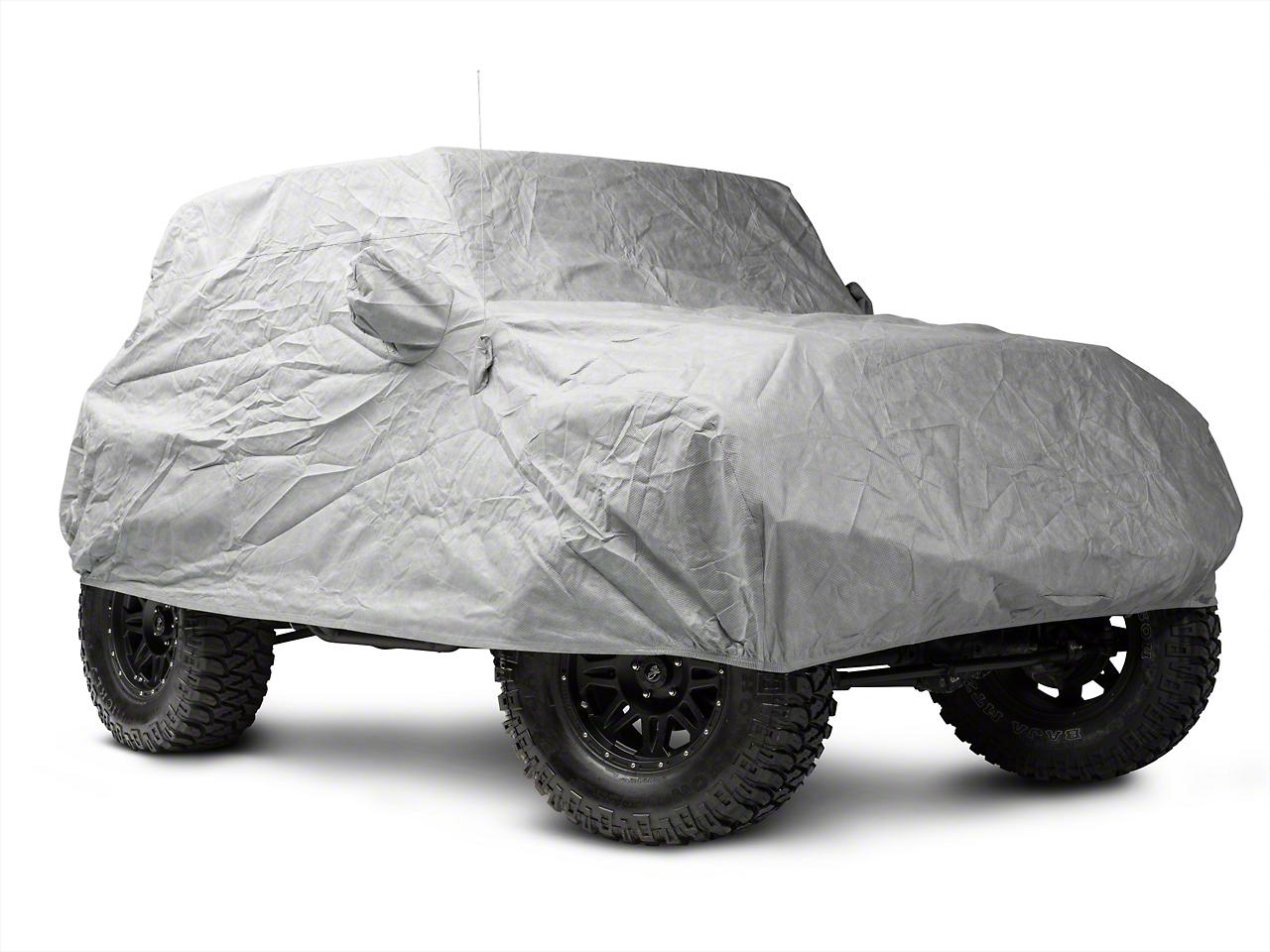 Smittybilt Full Climate Jeep Cover (07-17 Wrangler JK 2 Door)