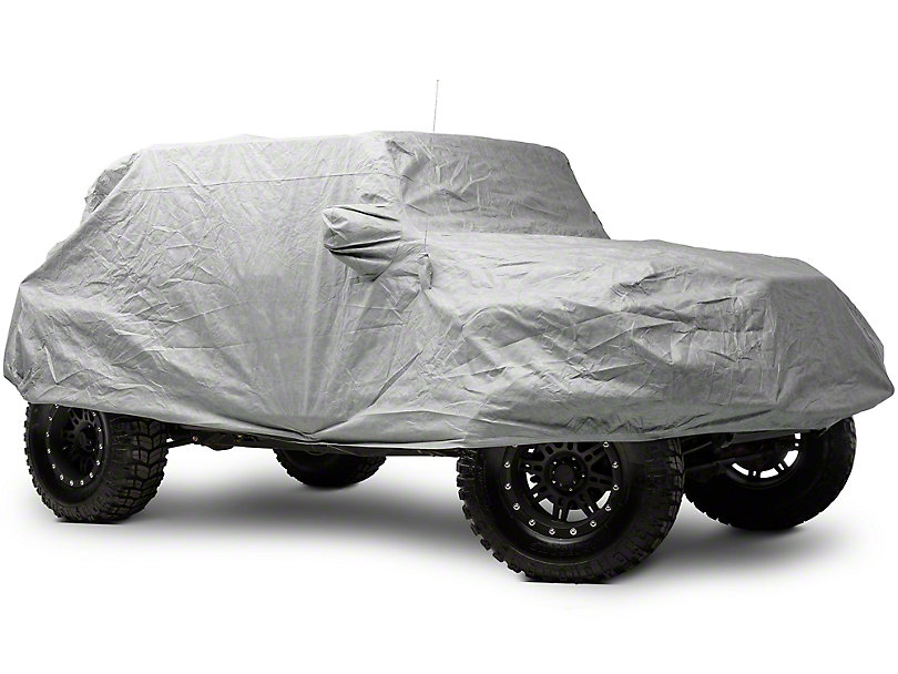 Smittybilt Full Climate Jeep Cover (07-18 Wrangler JK 4 Door)