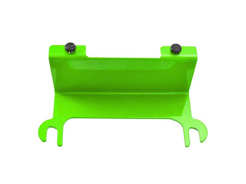 Steinjager License Plate Relocation Kit - Neon Green (07-18 Jeep Wrangler JK)