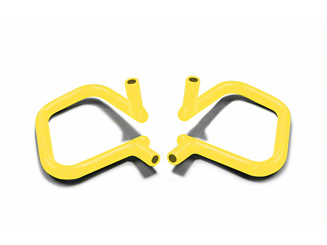 Steinjager Rigid Wire Form Front Grab Handles - Neon Yellow (07-18 Jeep Wrangler JK)