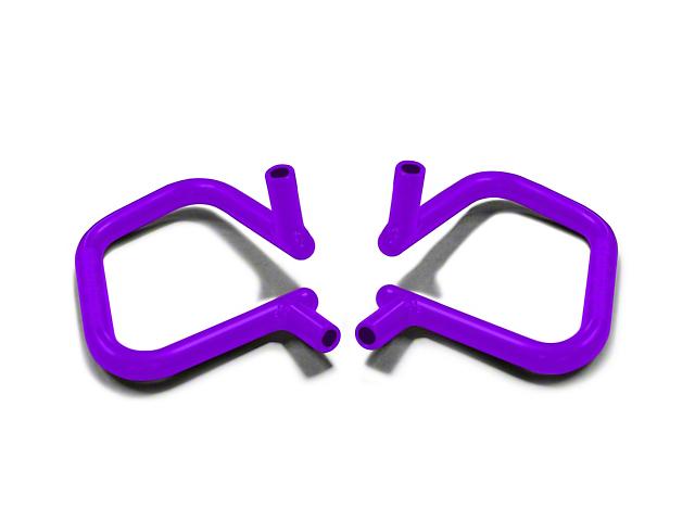 Steinjager Rigid Wire Form Front Grab Handles - Sinbad Purple (07-18 Jeep Wrangler JK)