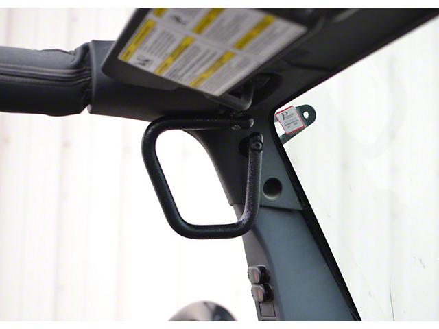 Steinjager Rigid Wire Form Front Grab Handles - Textured Black (07-18 Jeep Wrangler JK)