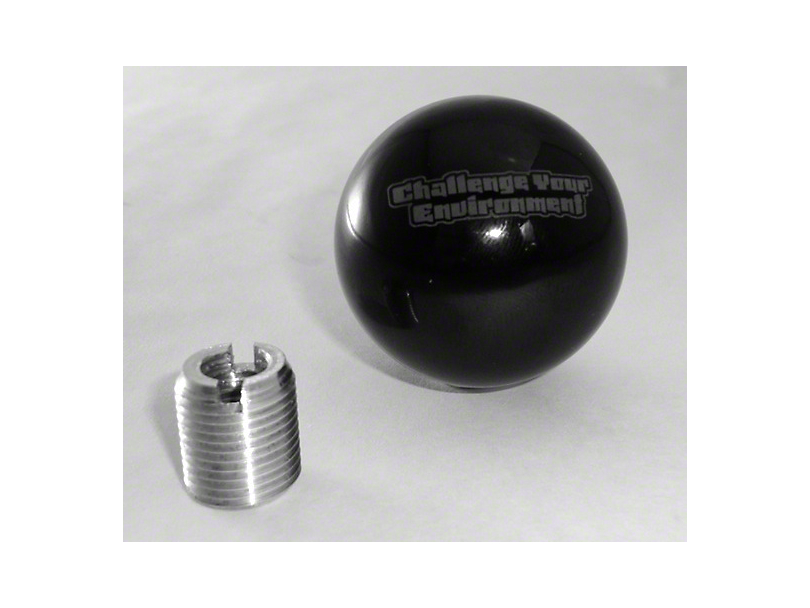 Steinjager Shift Knob - Challenge Your Environment (87-95 Jeep Wrangler YJ)