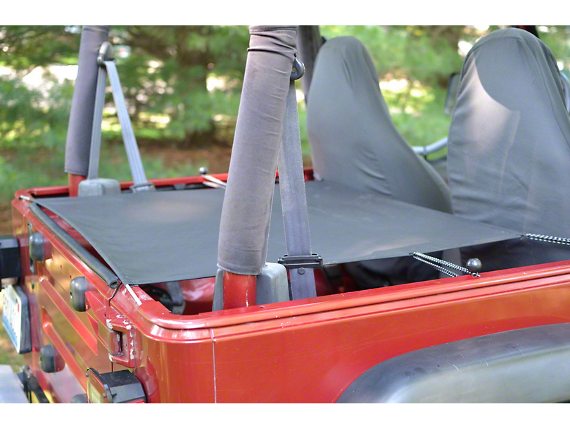 Steinjager Cargo Cover (97-06 Jeep Wrangler TJ)