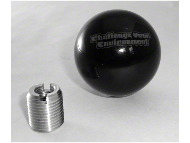 Steinjager Shift Knob - Challenge Your Environment (97-06 Jeep Wrangler TJ)