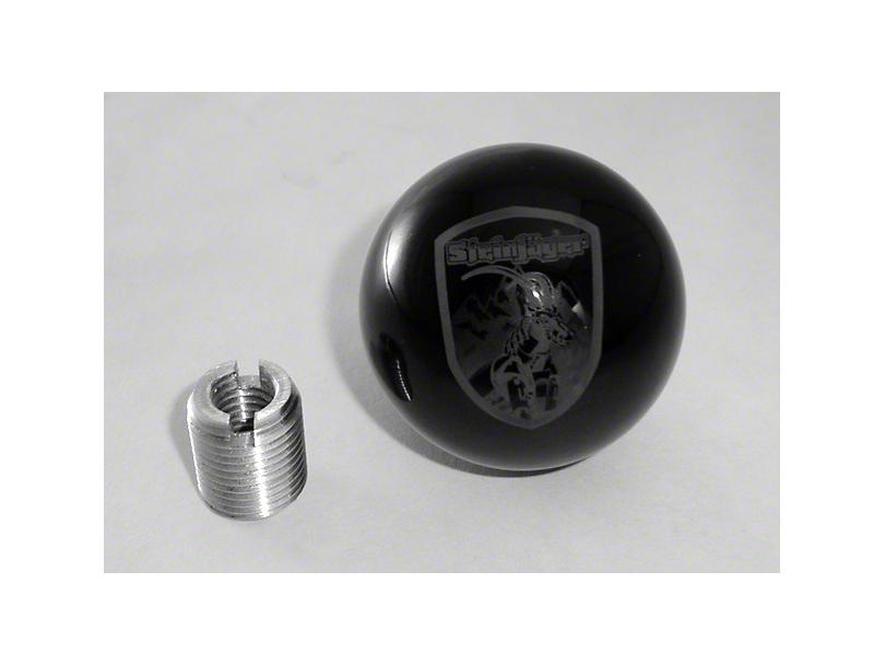 Steinjager Shift Knob - Steinjager Crest (97-06 Jeep Wrangler TJ)