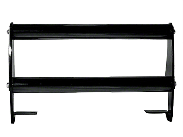 Rugged Ridge Front Bumper Guard - Glossy Black (97-06 Jeep Wrangler TJ)
