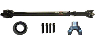 Adams Driveshaft Heavy Duty Front 1310 CV Greaseable Driveshaft Conversion (87-95 Jeep Wrangler YJ)