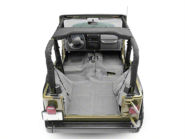 Rugged Ridge Deluxe Carpet Kit - Gray (97-06 Jeep Wrangler TJ)