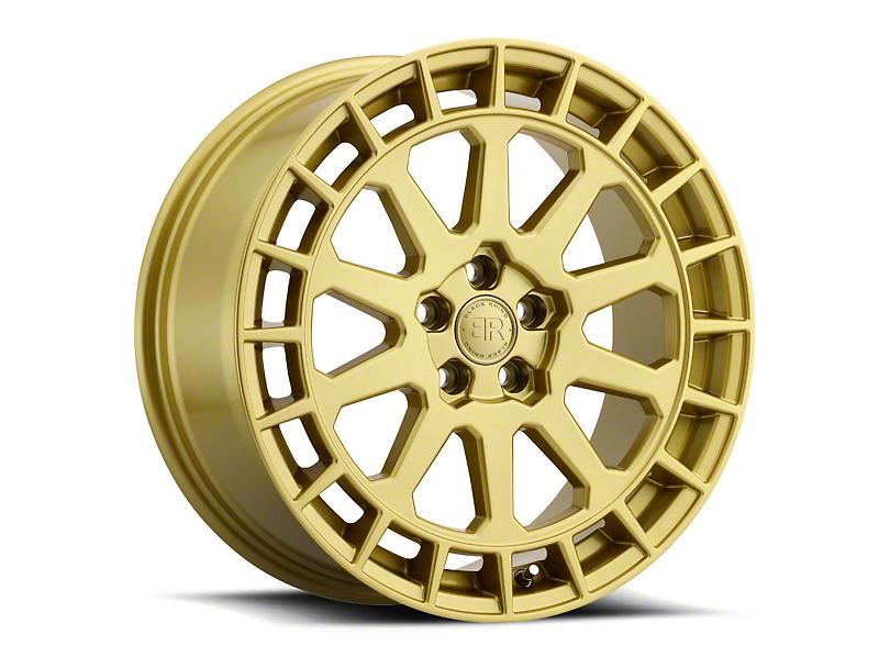 Black Rhino Boxer Gloss Gold Wheel - 15x7 (97-06 Jeep Wrangler TJ)
