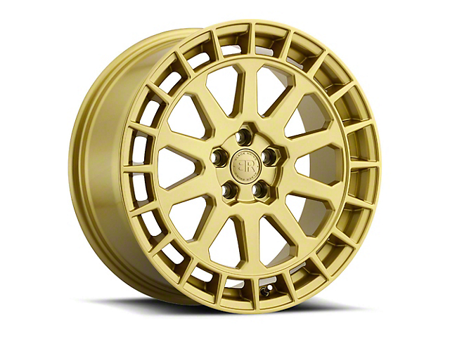 Black Rhino Boxer Gloss Gold Wheel - 18x8 (97-06 Jeep Wrangler TJ)