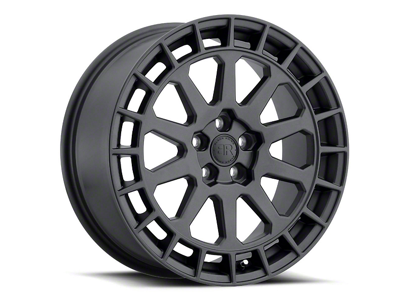 Black Rhino Boxer Gunblack Wheel - 18x8 (97-06 Jeep Wrangler TJ)