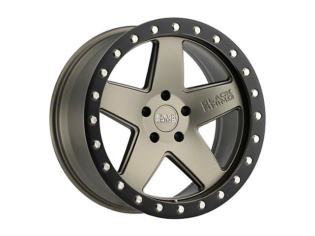 Black Rhino Crawler Matte Bronze w/ Black Lip Wheel - 17x8.5 (97-06 Jeep Wrangler TJ)