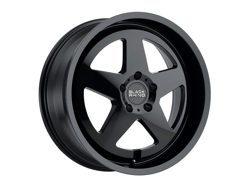 Black Rhino Crossover Gloss Black Wheel - 20x8.5 (97-06 Jeep Wrangler TJ)