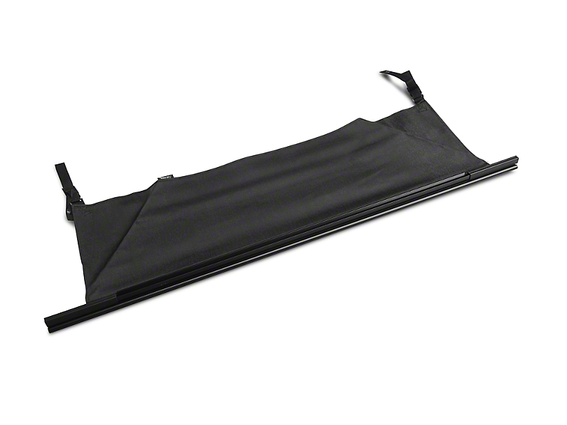 Rugged Ridge Tailgate Bar w/ Tonneau Cover - Black (97-06 Jeep Wrangler TJ)
